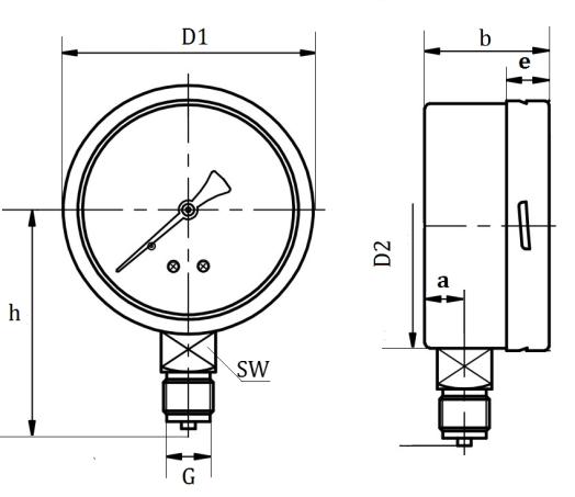 low range pressure air compressor