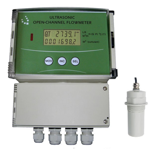 Ultrasonic Open Channel Flow Meter