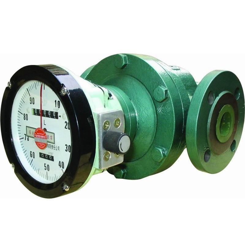 oval gear meter flow measurement