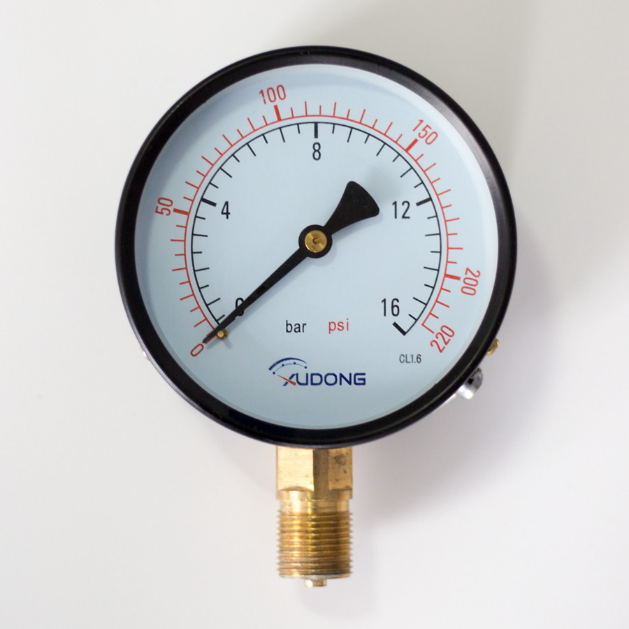 Economical Bourdon Tube Pressure Gauge