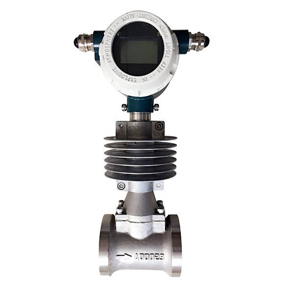 natural gas flow meter. vortex flow meter natural gas