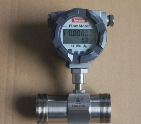 liquid turbine flow meter from Silver