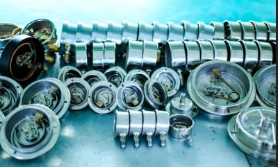 Selection and Maintenance of the Pressure Gauges