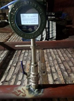 Thermal Mass Flow Meter for Cold Blast Air Measurement