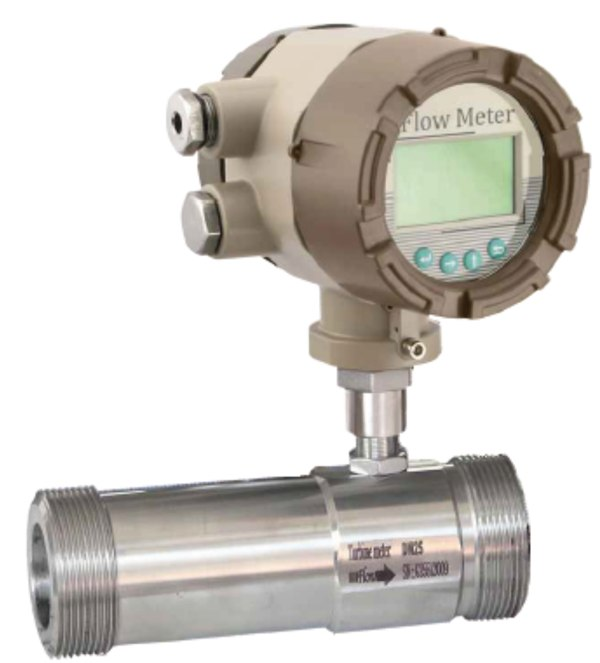 Thread Connection Gas Turbine Flow meter