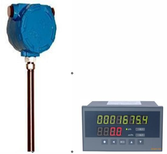 Remote Display Thermal mass flow meter