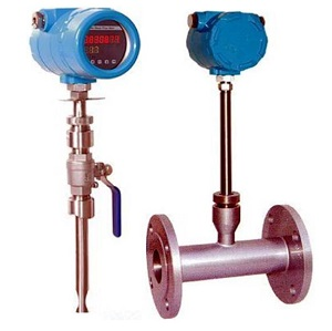 Thermal mass flow meter GAS