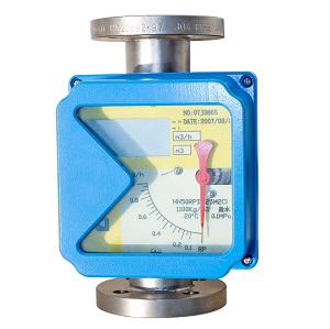 metal tube flow meter for gas and air