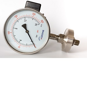 All welded Diaphragm seals Pressure Gauge