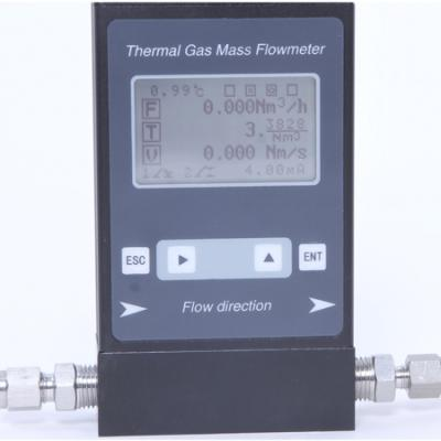 Micro-Flowrate Thermal Mass Flow Meter