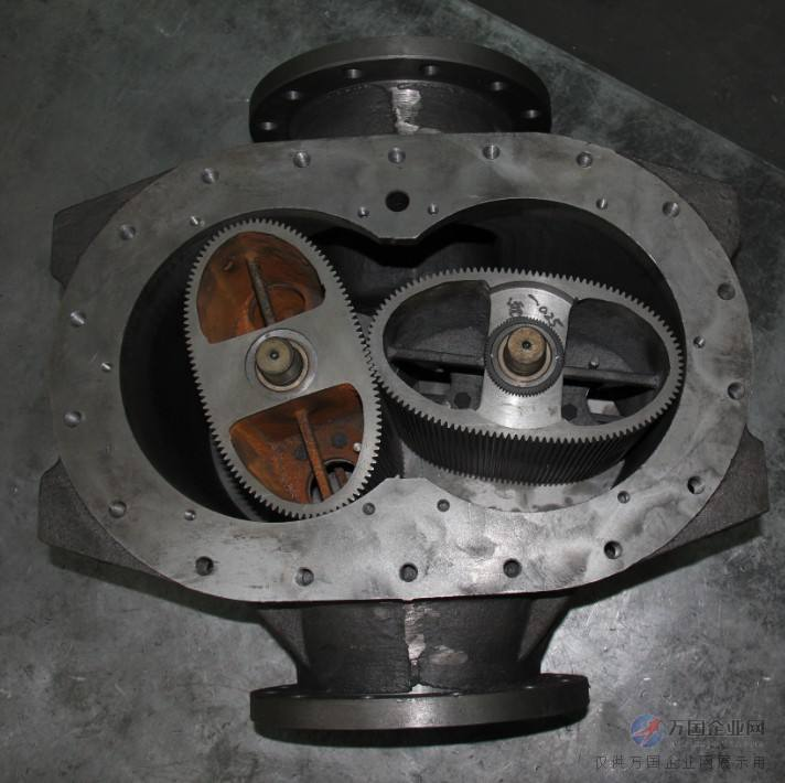 oval gear flow meter internal