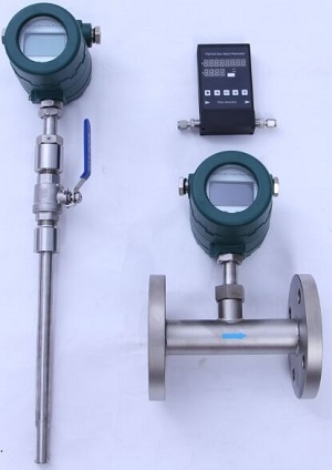 thermal mass flow meter performance
