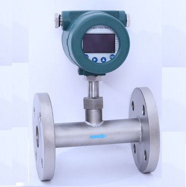 Methane gas flow meter