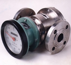 High viscosity oval gear flow meter (Positive Displacement)