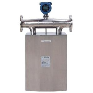 Large size Coriolis mass flow meter