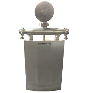 Sanitary and hygienic Coriolis flow meter