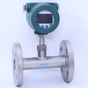 In-line type thermal dispersion flow meter