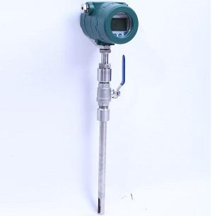 Insertion air flow meter