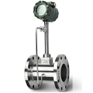 Flanged Vortex flow meter with compensation