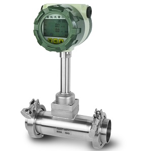 Tri-clamp style Vortex flow meter