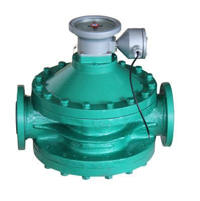 Oval gear flow meter with pulser