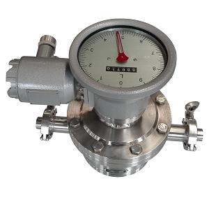 Sanitary Oval gear flow meter