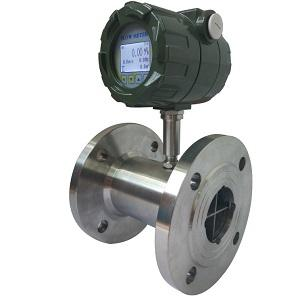 Digital flow meter with totalizer
