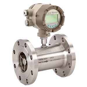 Liquid turbine flow meter with MODBUS