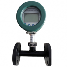 Flanged Thermal mass gas flow meter with PTFE painting