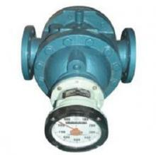 Helical gear flow meters