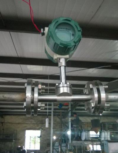 thermal mass flow meter for gas