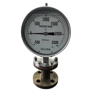 Low pressure diaphragm seal Pressure Gauge