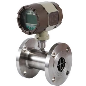 Turbine water flow meter