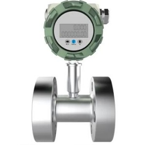 High pressure turbine flow meter