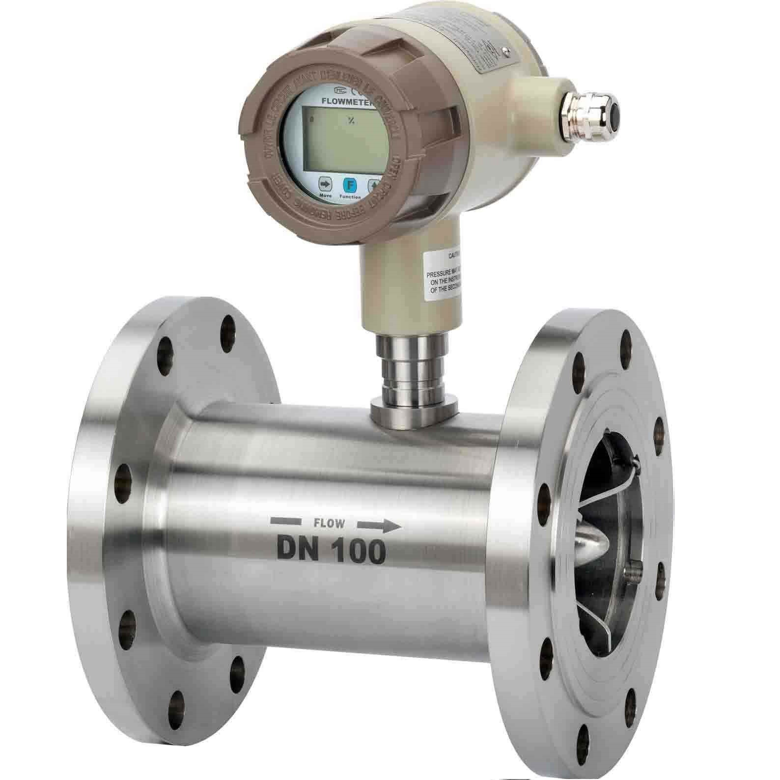 Digital Turbine flow meter to be used to measure chemical