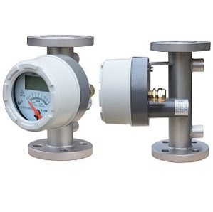 Metal Tube Rotameter with transmitters to measure chemical flow rate