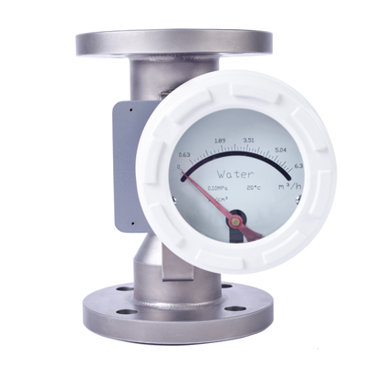 Rotameter to be used as industrial oil flowmeter at low flow rate