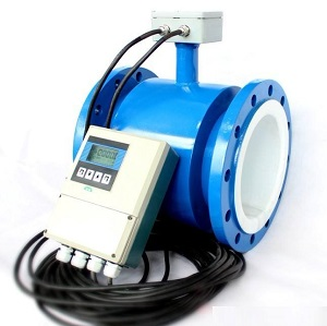 Electronic Magnetic Flow Meter