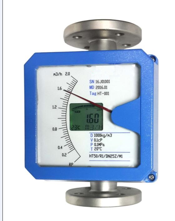 Rota meter or Variable area flow meter
