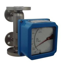 Rotameter flow meter with heating jacket